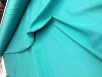 "5 mts153cm 60"" sea green viscose poly cotton material lining,backing,arts,fabric"
