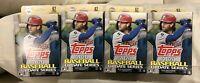(4) 2020 Topps Baseball Update Series FACTORY-SEALED Hanger Box 67 Cards Per Box