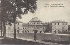 PARMA - GIARDINO PUBBLICO - SCUOLA DI APPLICAZIONE DI FANTERIA - V1917
