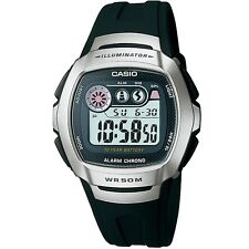 Casio W-210-1AV Silver Black Sports Digital Watch W210-1AV with Box Included