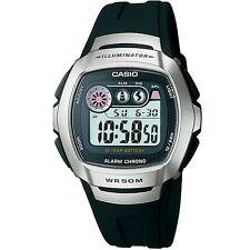 Casio W-210-1AV Silver Black Sports Digital Watch W210-1AV with Box Included