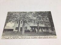 Newtown PA Real Photo Postcard RPPC Early 1900s Friends School Side