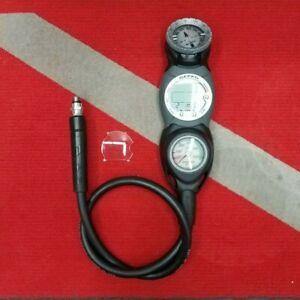 Suunto Gekko Dive Computer Console w/ Pressure Gauge & Compass for SCUBA Diving