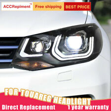 For VW Touareg Headlights Assembly Double Beam Lens Projector LED DRL 2011-2014