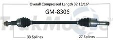 For Buick Enclave Traverse GMC Acadia AWD Rear Pass Right CV Axle Shaft SurTrack