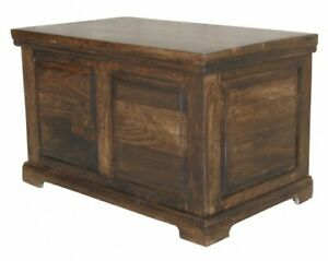 Wooden Large Box (Dark) for Storage Purposes made from Mango Wood