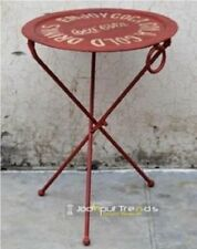 Mesita o Mesa de centro vintage de hierro forjado
