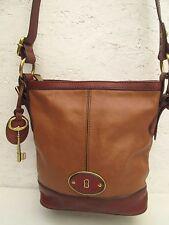 Joli et authentique sac à main  en cuir  FOSSIL  TBEG vintage bag --