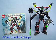 LEGO Hero Factory 6203 Fantasma Nero-Completo di istruzioni & Free Adesivo