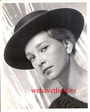 Vintage Taina Elg HAT FASHION BEAUTY 50s DBW MGM Publicity Portrait