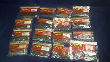 Lot Zoom Bait Lure 110 Pieces 16 Packs Centipede Lizard Worm Red Bug Salt Plus