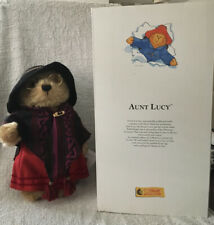VINTAGE COLLECTIBLE STEIFF AUNT LUCY BEAR WITH TAGS & BOX
