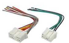 Male Wiring Harness Plugs into Factory Radio for 1989-2002 Mazda Vehicles