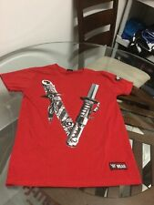 """WWE Official Shinsuke Nakamura """"The Vibe"""" T-Shirt Mens Small Excellent Cond"""