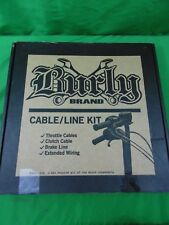 Burly Extended Control Cable Brake Line Kit Harley Touring 0610-0814 B30-1113