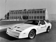 1989 Pontiac Trans Am Turbo Pace Car Press photo 8 x 10 Photograph