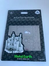 Disney Parks Haunted Mansion Metal Earth 3D Model Kits - NEW