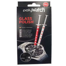 polyWatch Glass Polish - Scratch Remover for Watch Crystals glass Smartphone car