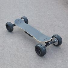 1800W 40Km/H speed 2 Hub Motors board Electric Skateboard Offroad Skater