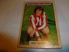 A & A.C. Chicle Fútbol Tarjeta 1973/74 Blue Back Mick Channon Southampton #61