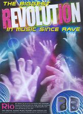 Rio Digital Music Player 2000 Magazine Advert #2890