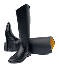 Rhinegold Hanover Black Long Leather Horse Riding Boots UK6 Narrow Fit  £60 ono