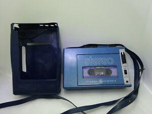 Rare Vintage Genral Electric 3-5270A Escape Portable Stereo Cassette Player