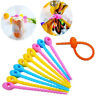 10Pcs Plastic Snack Food Bag Sealing Tie Wrap Bundled Cable Kitchen Supplies PR