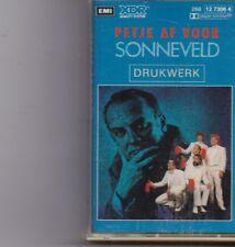 Drukwerk-Petje Af Voor Sonneveld music Cassette