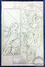 DREW JOHNSON ORIGINAL ART - TOMB RAIDER: JOURNEYS #5 PAGE 21