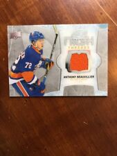 2016-17 UD Ice Fresh Threads Rookie #FT-AB Anthony Beauvillier