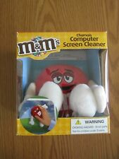 NEW IN BOX 2007 M & M'S RED CHAMOIS COMPUTER SCREEN CLEANER MAR'S INC.