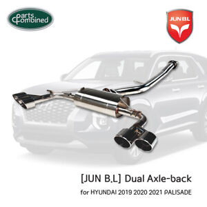 Dual Axle-back for HYUNDAI 2019 2020 2021 PALISADE [JUN B.L]