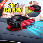 Portable Car Cooler Auto Electronic Air Conditioner Fan Fast Cooling 12V 2 in 1 photo