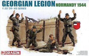 Dragon 1/35 6277 WWII German Georgian Legion (Normandy 1944) (4 Figures)