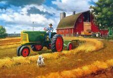 "Charles Freitag Bumper Crop John Deere Pheasant  Print 12/"" x 7.75/"""
