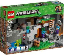 LEGO PER COLLEZIONISTI MINECRAFT  21141  LA CAVERNA DELLO ZOMBIE  NUOVO