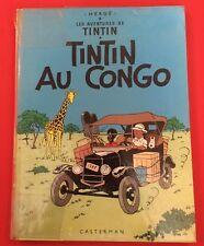 AVENTURAS TINTIN EN EL CONGO 1970 B39 BUEN ESTADO BD BANDA COMIC