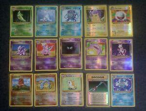 Lot Cartes Pokemon 14 Reverse dont mewtwo 51/108 + 25/108 Holo xy12 Évolution FR