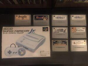 Super Famicom Jr Boxed + Games