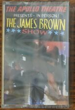 James Brown LIVE AT THE APOLLO New Sealed Clear Cassette Tape