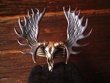 geiler Ring Moose Skull Elch Skelett Schädel neu et Nox Gothic Deluxe RG 62