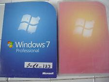 Microsoft Windows 7 Professional Full 32 & 64 DVD bit w/SP1 =NEW SEALED BOX=