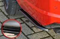 Heckansatz Flaps Seite aus ABS für Skoda Octavia RS 5E Facelift schwarz glanz
