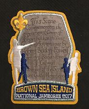 2017 National Boy Scout Jamboree Patch BSA Brown Sea Island Badge
