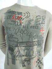 Jimmy Z Destroy Your Idols Graffiti Graphic Cotton Thermal Long Sleeve Shirt L