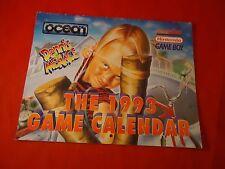 1993 Promotional Super Nintendo SNES Ocean Calendar ONLY Dennis the Menace