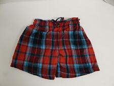 Build A Bear ~ Blue & Red Plaid Shorts