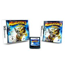 Nintendo Jeu DS Madagascar 3 Évasion par Europa Emballage D'Origine avec Manuel