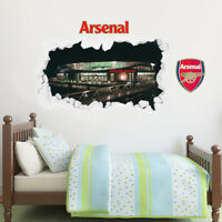 Arsenal Football Club Emirates Stadium Outside Smashed Wall Mural Sticker Gift
